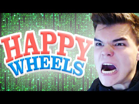 I'M A HACKER!! (Happy Wheels Funny Moments)