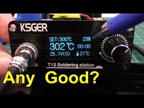 KSGER T12 Review - The Best Cheap Soldering Station Value
