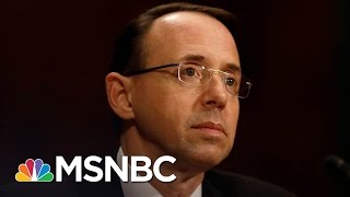WaPost: Deputy AG Threatened To Quit Over White House James Comey Narrative | The 11th Hour | MSNBC