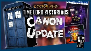 The BIGGEST revelation yet!? │TIME LORD VICTORIOUS │Canon Update