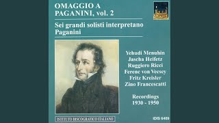 Introduction and Variations on Dal tuo stellato soglio from Rossini's Mose in Egitto, Op. 24,...