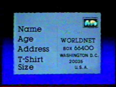 10 février 1986 • Worldnet (via TV5) • Continuité