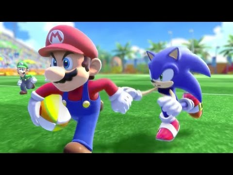 Mario and Sonic at the Rio 2016 Olympic Games – Rugby (All Characters Gameplay)
