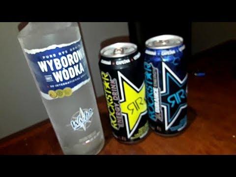 VODKA WYBOROWA - ROCKSTAR ENERGY