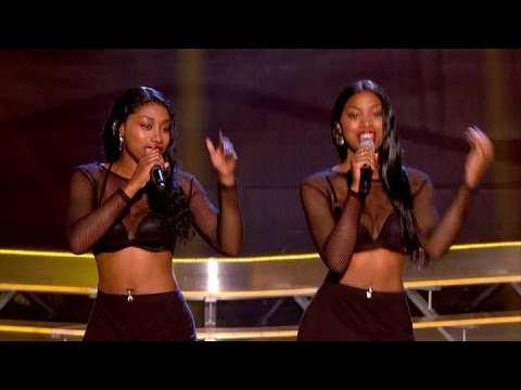 """DTwinz song """"Shy Guy"""" - The Voice UK 2015 