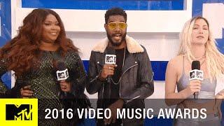 Lizzo, Myke, & Steak Discuss 'The Wonderland' | 2016 Video Music Awards | MTV