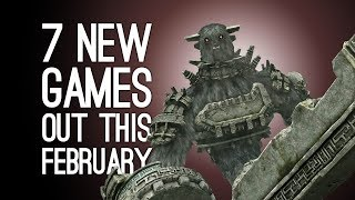 7 New Games out in February 2018 For PS4, Xbox One, PC, Switch