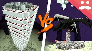 Killing the Ender Dragon with Redstone!