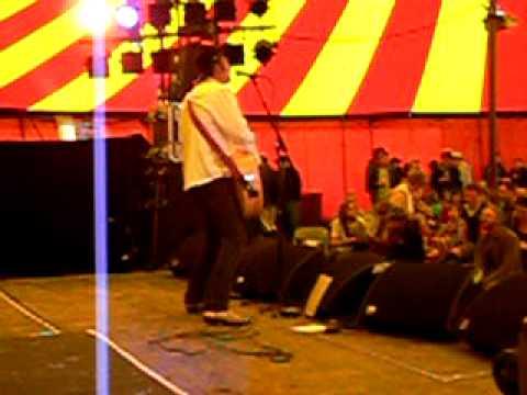 Jason Ringenberg. Trail of tears. Jason and the Scorchers. Larmer Tree Festival, England 2009