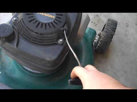 Yard man lawn mower with honda motor