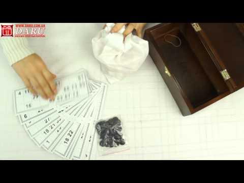 Видео-обзор: лото в деревянной шкатулке | daru.com.ua