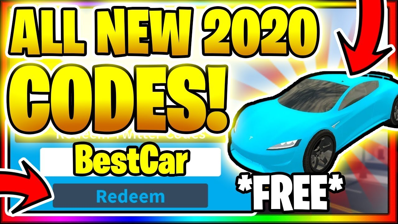 2020 All New Secret Op Working Codes Roblox Vehicle Simulator