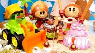 Video for girls. Disney Moana toys for kids.
