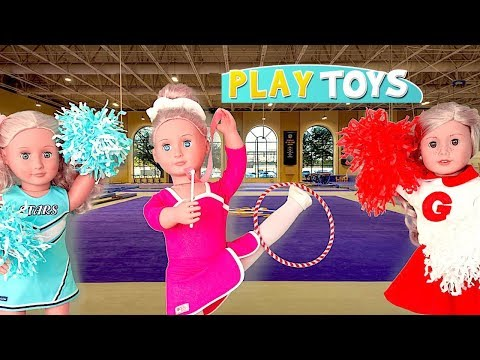 Thumbnail: Baby Doll Gymnastics Dream Accident - Play AG Dolls Morning Routine Gymnastics dress up Competition