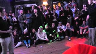 Marie Poppins vs. Malthe Think Big Final Popping Battle 2013