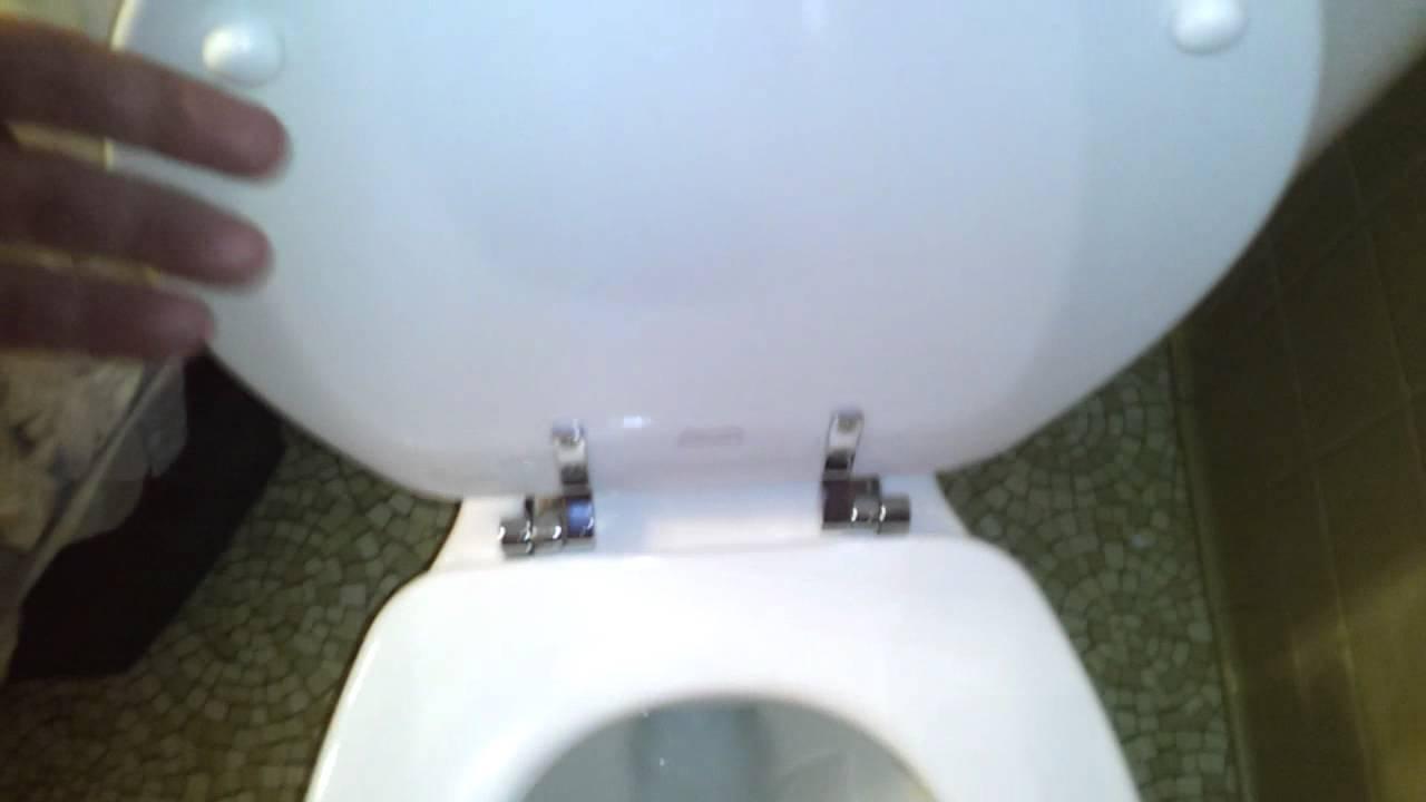 Bathroom Tour: Eljer Toilet at repair shop - YouTube