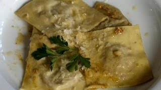 How To Make Beef Ravioli : Italian Cooking