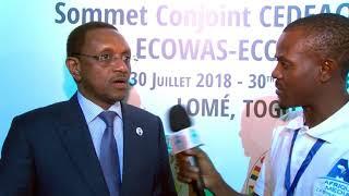 SOMMET CONJOINT CEEAC-CEDEAO : Interview mahamat zene cherif, ministre affaire étrangères du Tchad