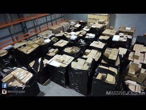 MJHQ Warehouse Move Day 3 | Shoulders Workout | RAW VLOG 13 Apr 2017 | MassiveJoes.com