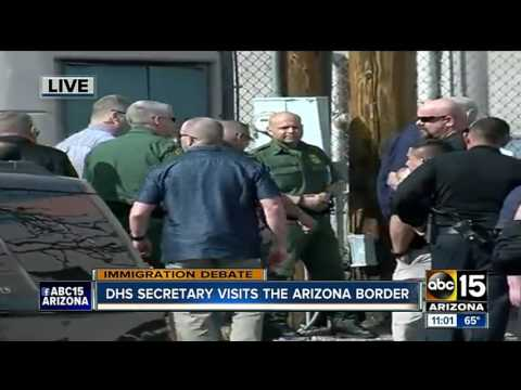 Homeland Security Secretary John Kelly to visit Arizona border