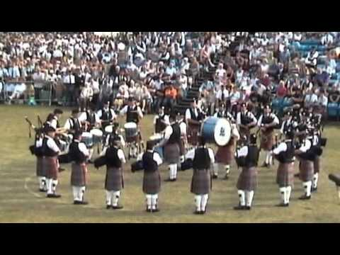 Shotts and Dykehead World Pipe Band Championships '03