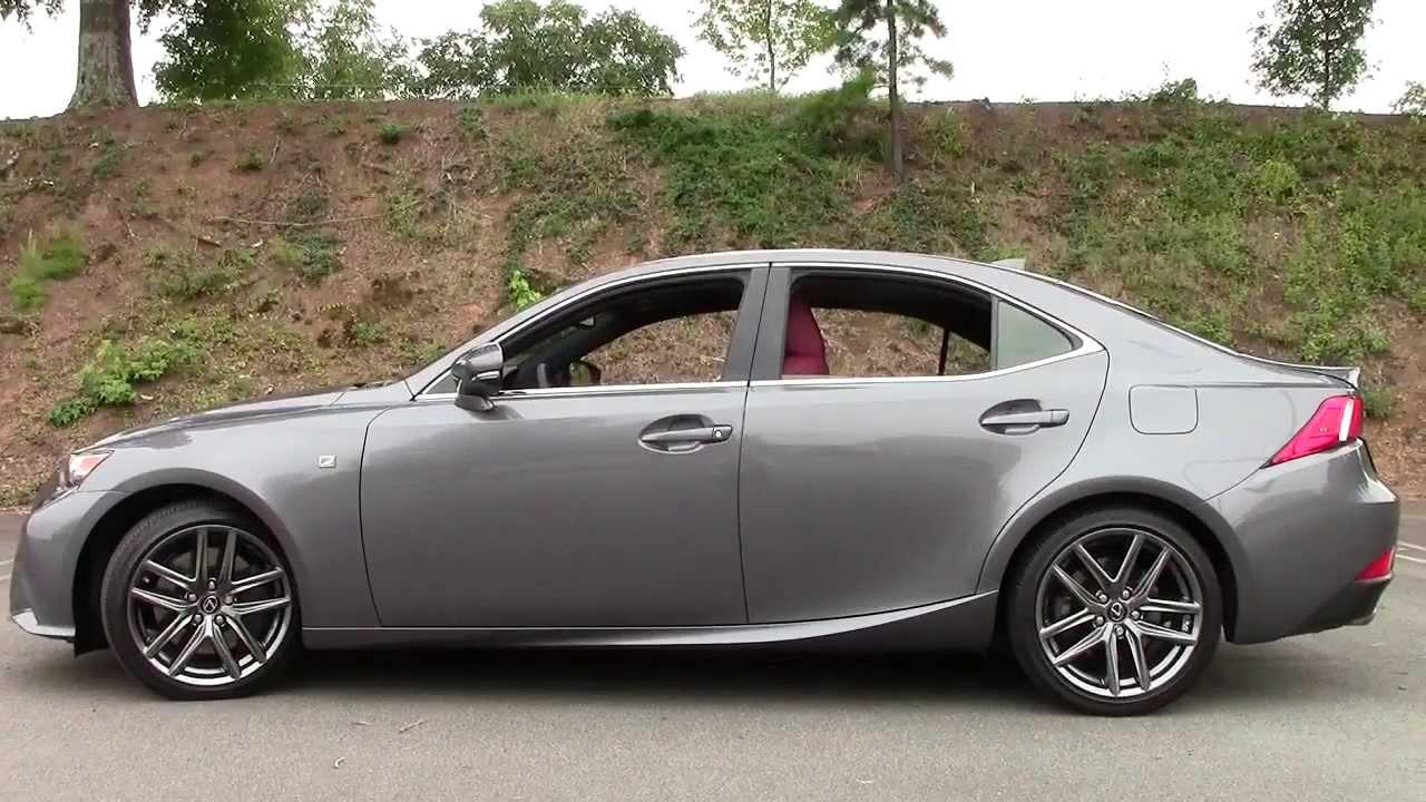2014 lexus is350 awd sedan f sport detailed walkaround. Black Bedroom Furniture Sets. Home Design Ideas