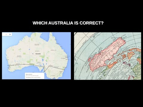 Australia - Flat Earth