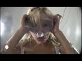 Girls Apnea Breath hold in the full water mask - Pool HD