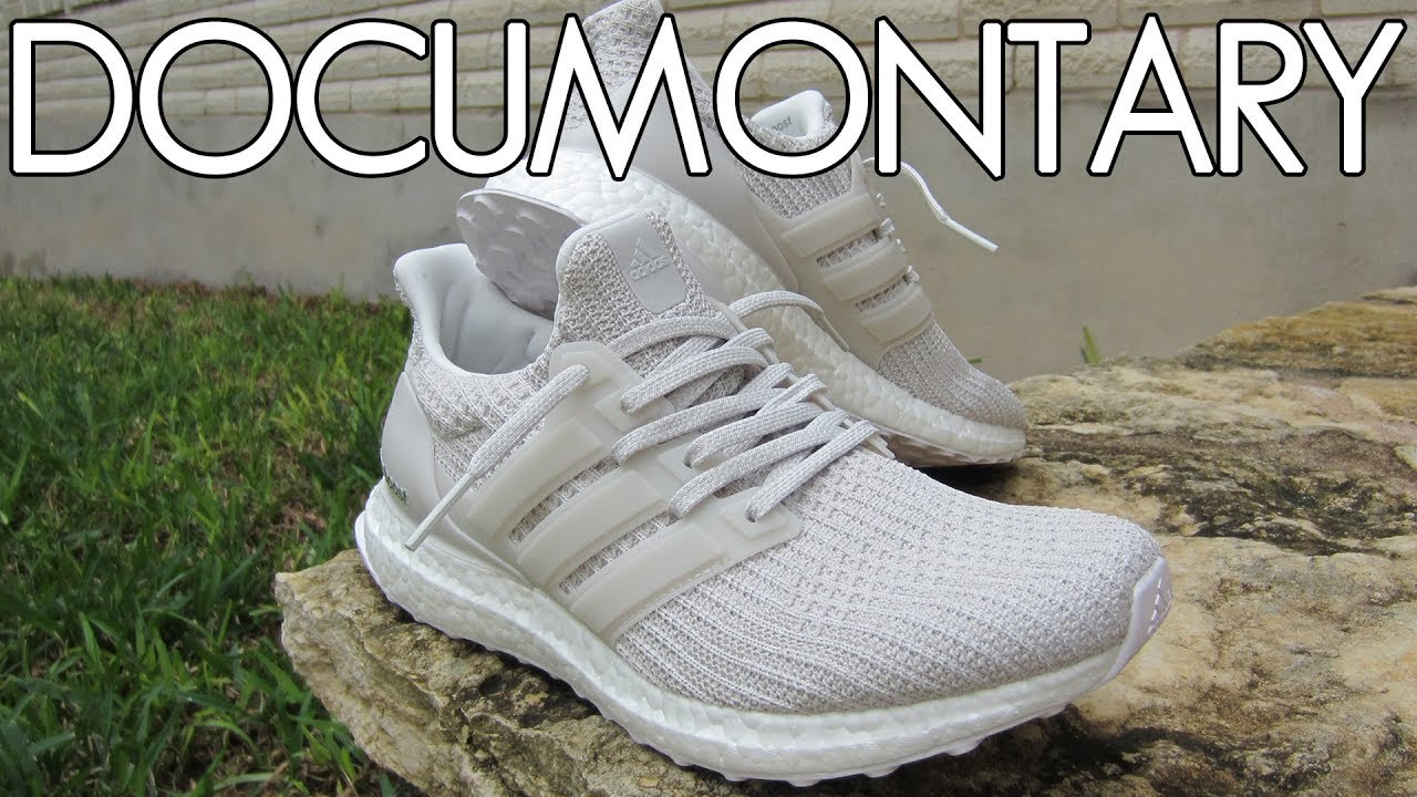 a2d4436a88dca adidas Ultra BOOST 4.0 Chalk Pearl White • Review   On-Feet ...