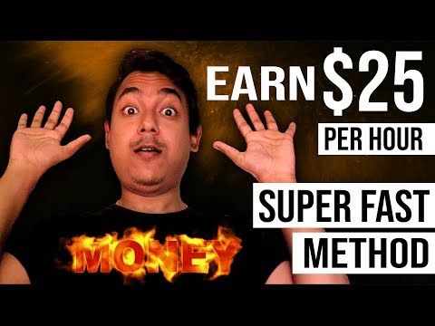 Super fast method to make money online - part time work no investment freelance job