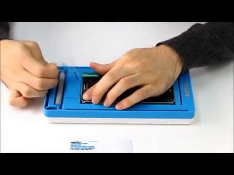 14f2d45ce055 Аппарат REMAX для наклейки пленки на смартфоны - YouTube