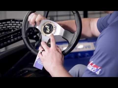 Steering Wheel And Hub | How To Install Video | Madjax® Golf Cart Accessories (UPDATED)