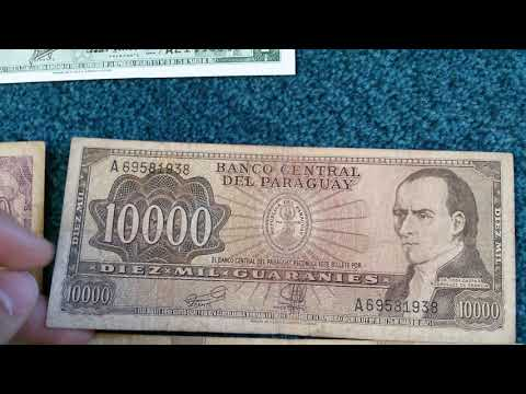 #Currency special part 57: Paraguay Guarani