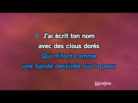 Karaoké Morgane de toi - Renaud *