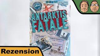 Antarktis Fatale - Brettspiel - Review mit Peat & Alex
