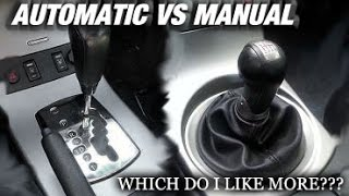 Manual vs Automatic Which Do I Like More??? - G35 Vlog
