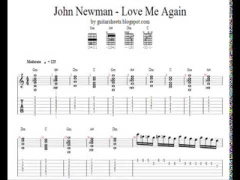 ♫ John Newman - Love Me Again ♫ Easy Guitar Lesson ♫ DOWNLOAD ...