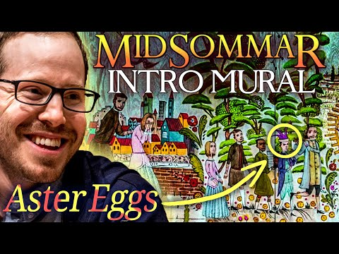 How Ari Aster Spoiled Midsommar In The First Shot: All The Mural Aster Eggs.