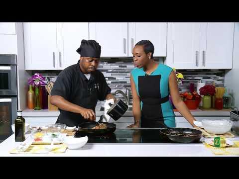 Chef it Up - Chef Miller's Jerk Mango Lamb