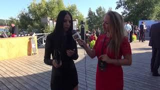 Смотреть видео Интервью Надежды Бойко -  популярного  дизайнера женской одежды для бизнес вумен. онлайн