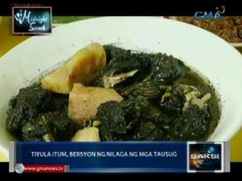 Midnight Snack: Tiyula Itum at Chika Lang, ilan sa mga patok na putahe ng mga Tausug