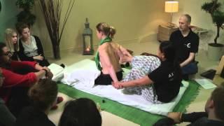 Yogamassage föreläsning på Axelsons Gymnastiska Institut