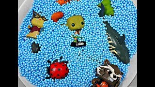 Герои мультфильмов и дикие животные для детей