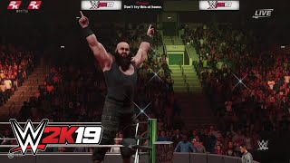 WWE 2K19 entrance mashup: Braun Strowman as Rey Mysterio