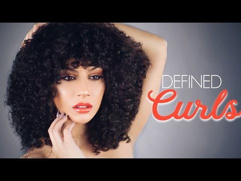 Get Perfectly Defined Curls & NO Frizz • Wash & Go | Denman Brush + Deva Curl
