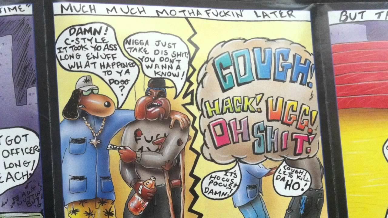 Snoop Doggy Dogg - Doggystyle Cd Art