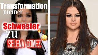 Transformation meiner SCHWESTER zu Selena Gomez I Tamtambeauty