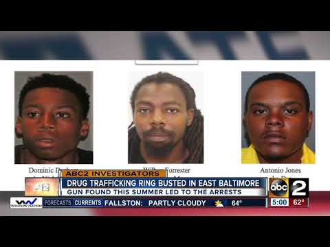 Alleged drug dealers arrested for trafficking in Baltimore