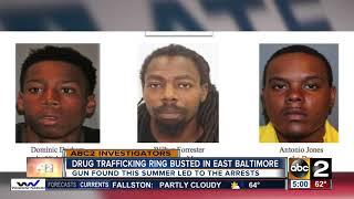 Alleged drug dealers arrested for trafficking in Baltimore