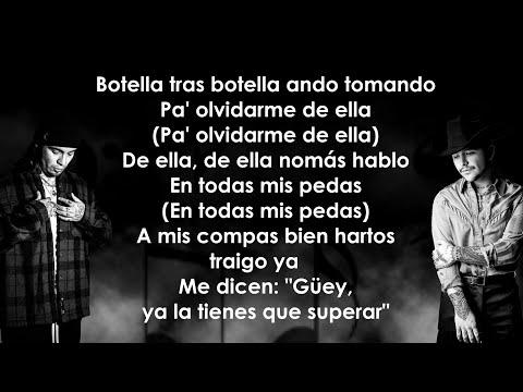 Gera MX, Christian Nodal – Botella Tras Botella (Letra/Lyrics)
